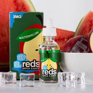 watermelon Apple ice By Reds 60ml 3mg